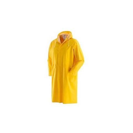 Cappotto in pvc spalmato impermeabile giallo NW NERI mod. PLUVIO 462050