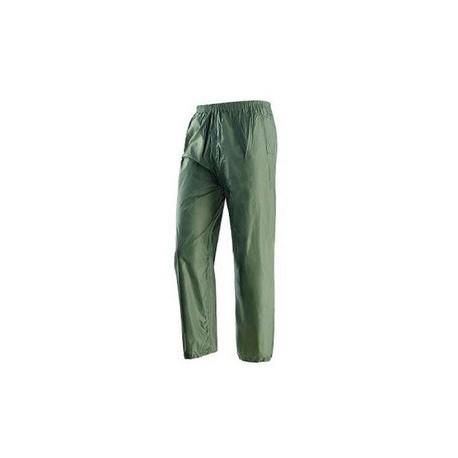 Pantalone da lavoro in poliestere spalmato pvc verde NW NERI mod. NIAGARA