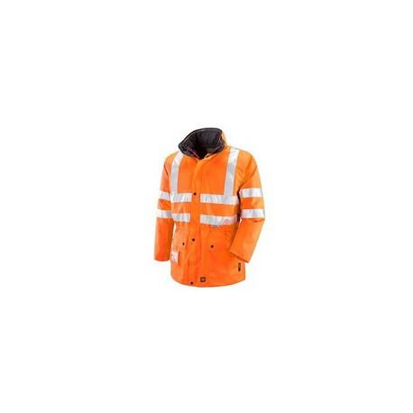 Giacca da lavoro alta visibilita' a triplo uso arancio/giallo NW NERI mod.ROMEA