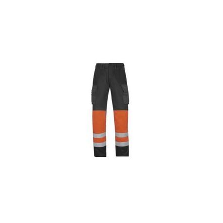 Pantalone da lavoro cargo alta visibilità catarifrangente SNICKERS mod. 3833