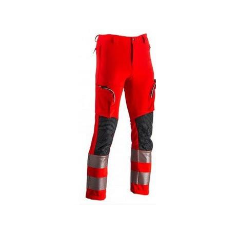 Pantalone da lavoro tecnico catarifrangente linea soccorso REVERSE mod. VERTICAL