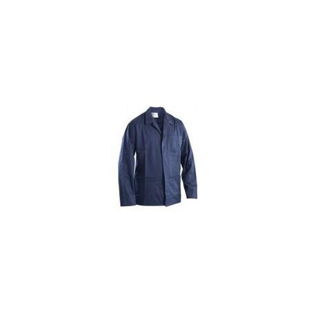 Giacca da lavoro 100% cotone blu/bianco GRUPPO P&P