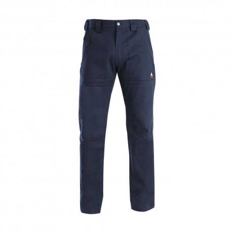 Pantalone da lavoro tripla taglia con cerniere SIGGI mod. TRINITY 97% cotone