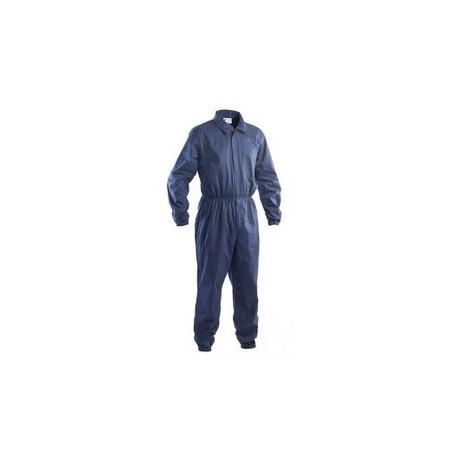 Tuta da lavoro antimpigliamento 100% cotone blu/bianco GRUPPO P&P