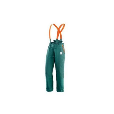 Pantalone da lavoro protettivo antitaglio uso boscaiolo NW NERI mod. FOREST