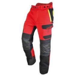 Pantalone da lavoro protettivo antitaglio uso boscaiolo MOLO SANTE mod.         INFINITY.