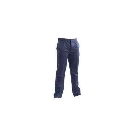 Pantalone da lavoro invernale 100% cotone fustagno blu GRUPPO P&P