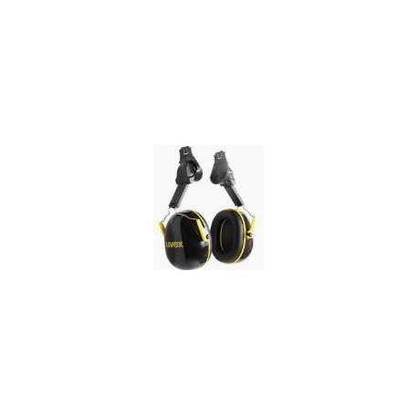 Cuffia antirumore per elmetto di protezione abbattimento 30dB UVEX mod.K2H      0442600202
