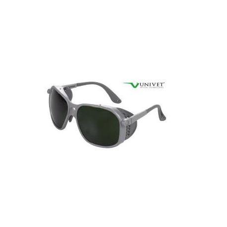 Occhiale protettivo da lavoro con lente verde in policarbonato per              saldatura mod.566.00.00