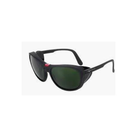 Occhiale protettivo da lavoro con lente in vetro DIN5 per saldatura EN166-175   mod.566.01.00.50
