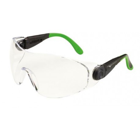 Occhiale protettivo da lavoro con lente chiara antigraffio antiappannamento     mod.529.00.06.11