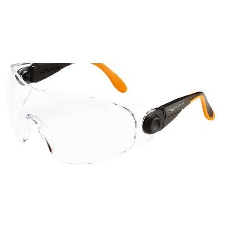 Occhiale protettivo da lavoro con lente chiara antigraffio/antiappannamento     UNIVET mod.529.00.05.00