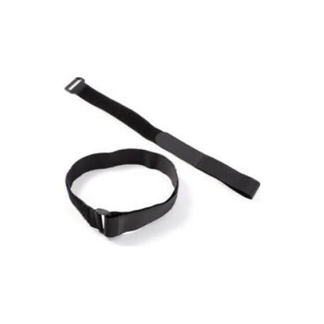 Fascia regolabile in nylon per ancoraggio e supporto estintori per automezzi    mod. 21081