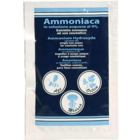 Salvietta ammoniaca in soluzione acquosa al 4% mod. TOW234