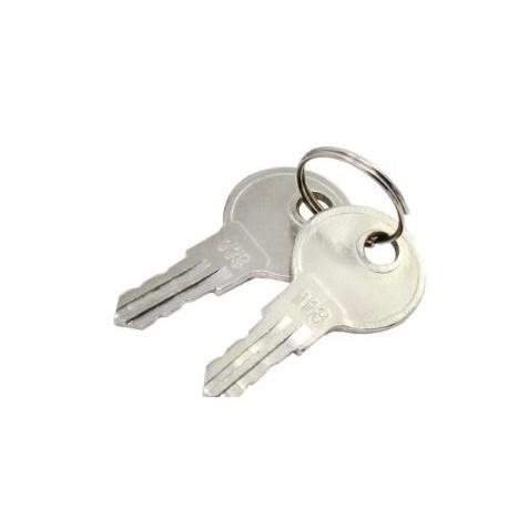 Chiave ricambio/scorta standard per apertura armadietti pronto soccorso in      metallo mod. CHI001