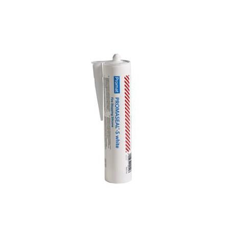Cartuccia mastice antincendio flessibile colore bianco 310 ml. per sigillatura  giunti su muri/solette mod. PROMASEAL S