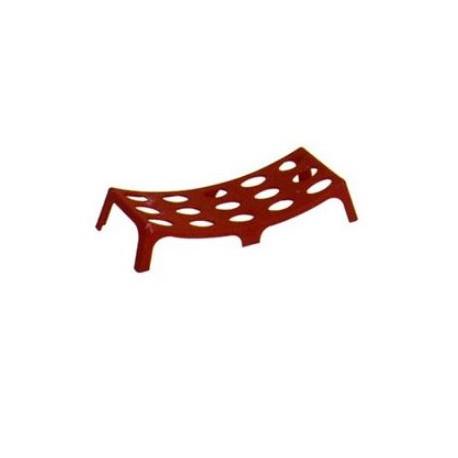 Sella salvamanichetta in PVC per manichette idrante UNI 70 colore rosso mod.    1628