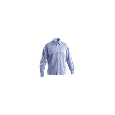 Camicia da lavoro manica lunga GRUPPO P&P mod. OXFORD 100% cotone