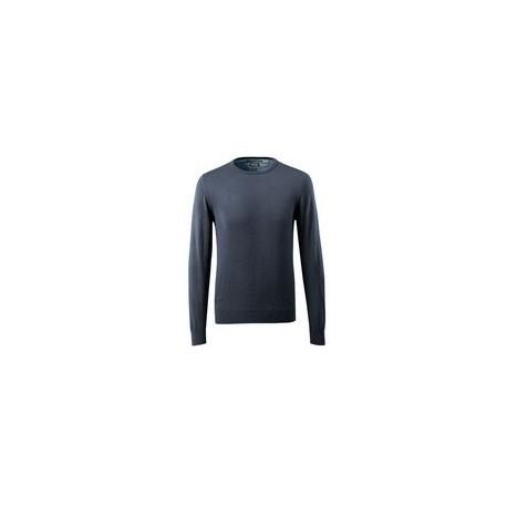 Maglione da lavoro giroccolo e maniche a coste MASCOT mod. 50636-989 50% lana   merino