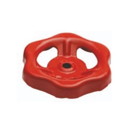 Volantino in acciaio ricambio per rubinetto idrante DN60 quadro 7 pollici mod.  M61329.