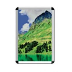 Cornice a scatto in alluminio anodizzato colore argento per foglio cm. 1000 x   700 mod. LEOP21003514050
