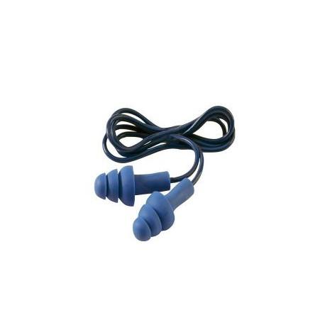 Tappi auricolari antirumore con cordino attenuazione 32db 3M mod.TR-01-000 EAR  TRACERS.
