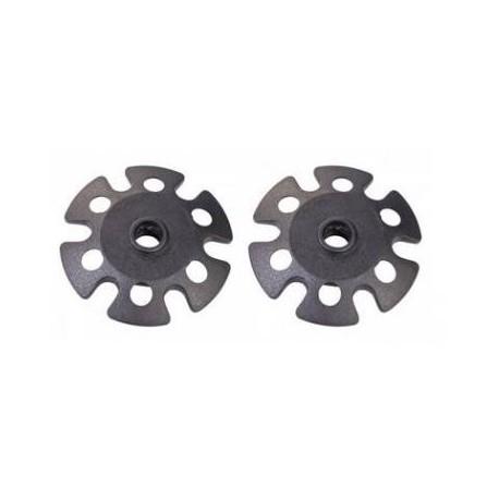 Coppia rotelle per bastoncini trekking diametro mm. 80 FERRINO mod. 78383       ROTELLA TREKKING.