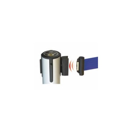 Stopper antipanico/riscontro a incastro magnetico per nastro estensibile KD mod.STAP70SZ.