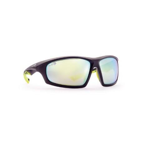 Occhiale da montagna con lente fumo categoria 3 DEMON mod. CURVE.
