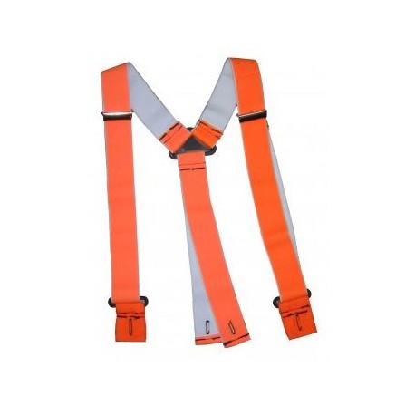 Bretelle per pantalone da lavoro protettivo antitaglio uso boscaiolo MOLO SANTE mod. BRETELLE