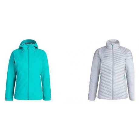 Giacca con cappuccio invernale per donna MAMMUT mod. 1010-26490 CONVEY 3 IN 1 HSHOODED JACKET.