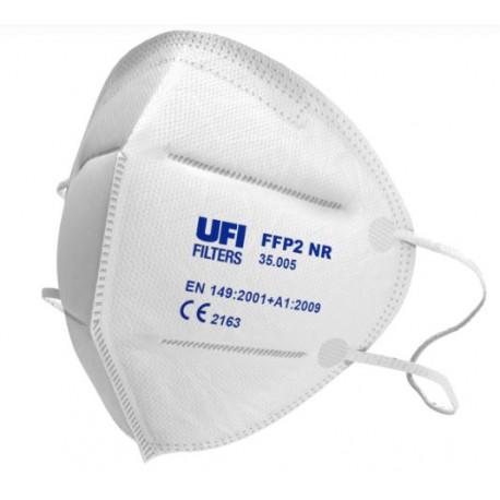 Maschera protettiva pieghevole FFP2 NR EN149:2001+A1:2009 UFI mod. 35.005.70