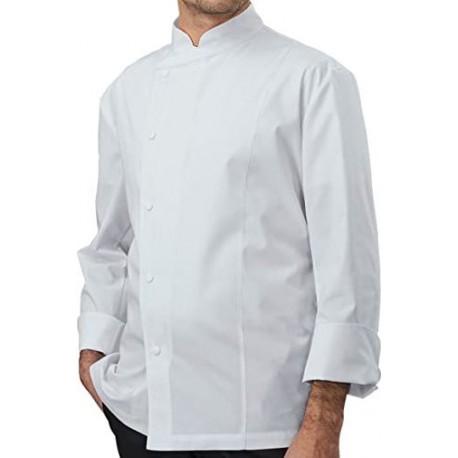 Giacca da lavoro uso cuoco SIGGI mod. ADAM 65% poliestere 28GA0206