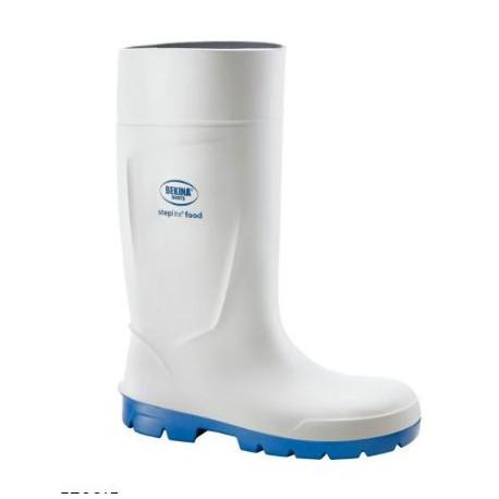 Stivali antinfortunistici in poliuretano bianco uso alimentare S4 NW NERI mod.  570915 STEPLITE FOOD.