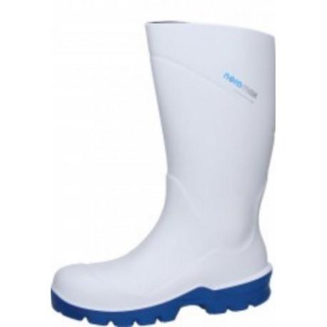 Stivali antinfortunistici in poliuretano bianco uso alimentare S4 SPIRALE mod.  NORAMAX FOOD