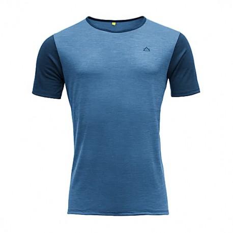 T-shirt manica corta intimo lana merino 130 gr. per uomo DEVOLD mod. GO         293 280A SANDOY MAN TEE.