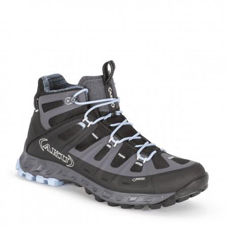 Scarpa alta da trekking per donna AKU mod. 676 SELVATICA MID GTX.
