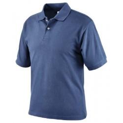 Polo da lavoro manica corta blu NW NERI mod. 471020 100% cotone