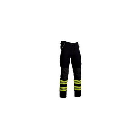 Pantalone da casermaggio per vigili del fuoco tessuto elasticizzato REVERSE mod.559UT