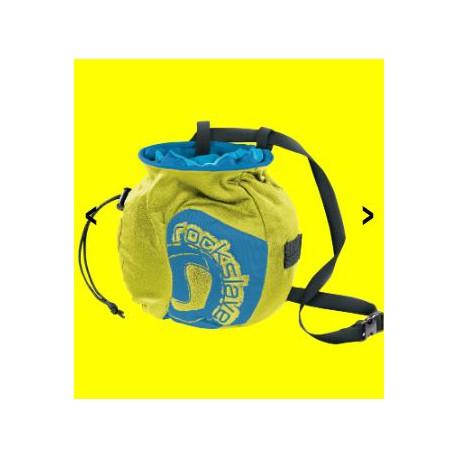 Sacco porta-magnesite  per prevenzione umidita' su mani per arrampicata         FERRINO mod. 81054 CHALKOLATE.